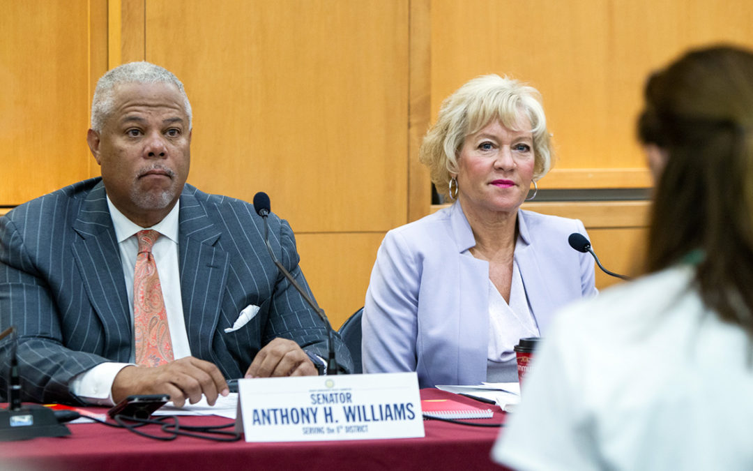 Senator Anthony H. Williams, Senator Lisa Boscola